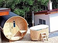 Sudová sauna a koupací káď - Horní Bečva