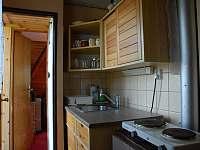 Kuchyň 2.polovina chaty - ubytování Nový Hrozenkov