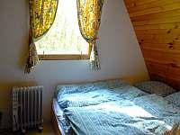 Ložnice 1. - 1.polovina chaty - k pronájmu Nový Hrozenkov