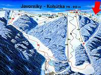 Lyžařský areál Kohútka - Nový Hrozenkov