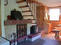 Obývací pokoj 2.polovina chaty - k pronajmutí Nový Hrozenkov