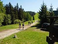 Výhled z chaty - ubytování Nový Hrozenkov