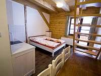 Apartmán - ložnice - chalupa k pronajmutí Dolní Lomná