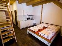Apartmán - ložnice - pronájem chalupy Dolní Lomná