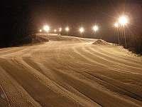 Ski areál Armáda - 100 m od penzionu - chalupa k pronájmu Dolní Lomná