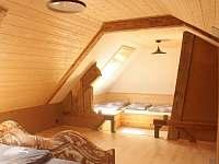 Pokoj v podkroví - chata ubytování Horní Bečva