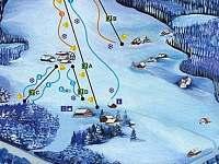 Skiareál u chaty