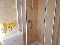sprchový kout - chalupa k pronájmu Návsí