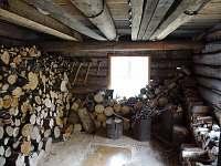 Dřevník - pronájem chalupy Hutisko Solanec