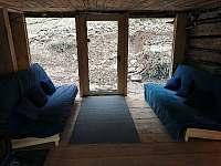 Nově dokončená místnost 1.5.2021 - pronájem chalupy Hutisko Solanec