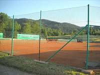Tenisové kurty 250m