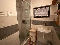 Koupelna č.2 - chalupa k pronajmutí Dolní Bečva