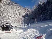 Zima - chalupa k pronajmutí Dolní Bečva