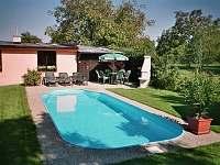 Pronájem chalupy s bazénem v Bystřici pod Hostýnem