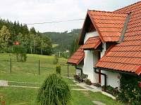 Přední část chaty - vchod