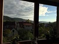 horní apartmán- výhled - Halenkov