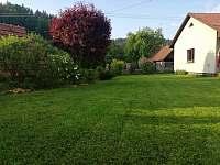 zahrada - apartmán k pronájmu Halenkov