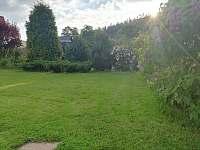 zahrada - pronájem apartmánu Halenkov