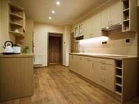 kuchyně v apartmánu U Ospalca