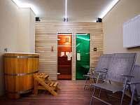 wellness - sauna, infra sauna, ochlazovací káď