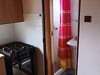 Koupelna se sprchovým koutem - chalupa ubytování Dolní Bečva