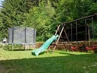 Bezva vyžití pro děti na chatě Horní Bečva