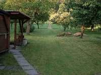 Horní část zahrady