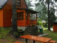 chata u přehrady - ubytování Horní Bečva