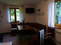 obývací pokoj - pronájem chaty Horní Bečva