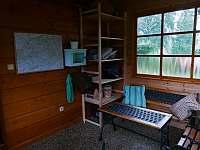 veranda - chata k pronájmu Horní Bečva