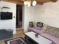 Obývací pokoj - pronájem chalupy Nový Hrozenkov