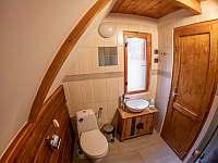 Koupelna - chata k pronajmutí Rajnochovice