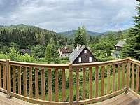 Výhled z chaty - Rajnochovice