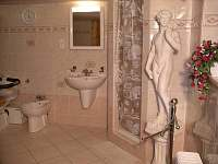 Wellness koupelna na chatě Krásná