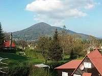 Pohled na Skalku - chata k pronájmu Kunčice pod Ondřejníkem
