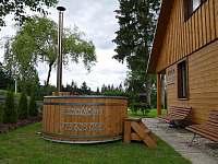 Koupací sud - chata ubytování Horní Bečva