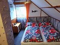 Pokoj v podkroví 2 lůžka - pronájem chaty Horní Bečva