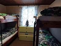 Pokoj v přízemí 4 lůžka - chata k pronajmutí Horní Bečva