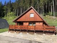Chalupa léto - chata ubytování Velké Karlovice
