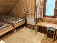 Druhý pokoj - chata k pronájmu Velké Karlovice