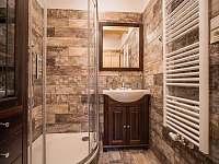 koupelna velký apartmán - chalupa k pronájmu