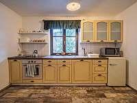 kuchyně malý apartmán - pronájem chalupy Velké Karlovice