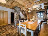 kuchyně s jídelnou velký apartmán -