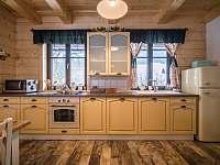 kuchyně velký apartmán -