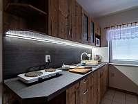 Kuchyňský kotout - chalupa ubytování Lubno