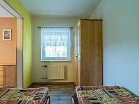 Ložnice - pohled z postele - Lubno