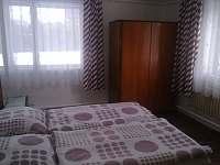 ložnice - pronájem chalupy Velké Karlovice