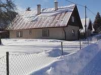 Zima - chalupa k pronajmutí Velké Karlovice