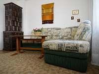 Apartmán pro 9 osob - obývací pokoj
