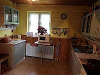 Kuchyň - chata k pronájmu Čeladná